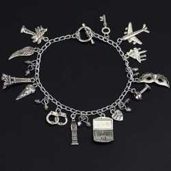 Bracelet Breloque 50 Nuances de Grey