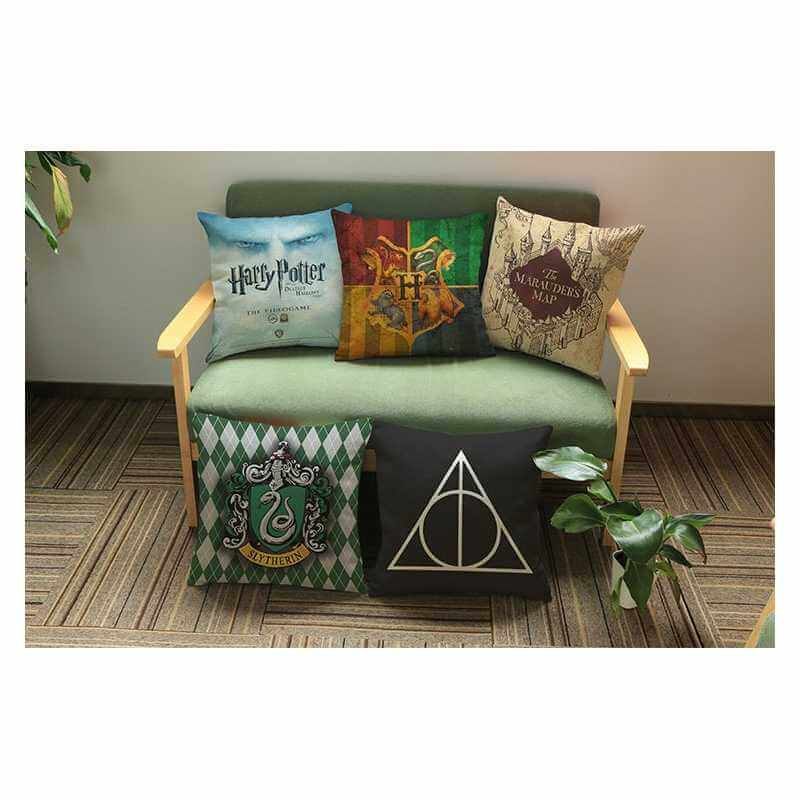 acheter deco harry potter pas cher chambre canap livre. Black Bedroom Furniture Sets. Home Design Ideas