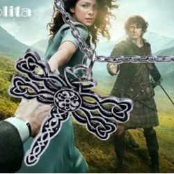 Collier Celtique Libellule Outlander