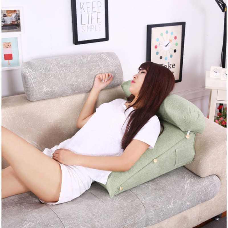 acheter ensemble coussin de lecture coussin de positionnement pour le dos et cervicales. Black Bedroom Furniture Sets. Home Design Ideas
