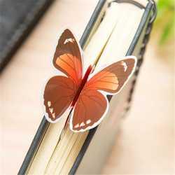 Marque-Page Papillon 3D en Papier