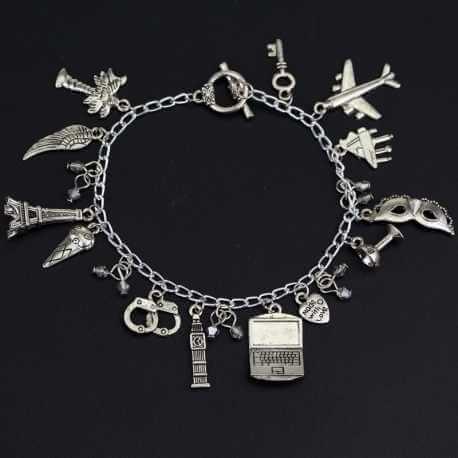Bracelet Breloque 50 Nuances de Grey