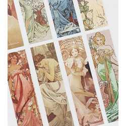 30 Marque-Pages Motif Art Deco
