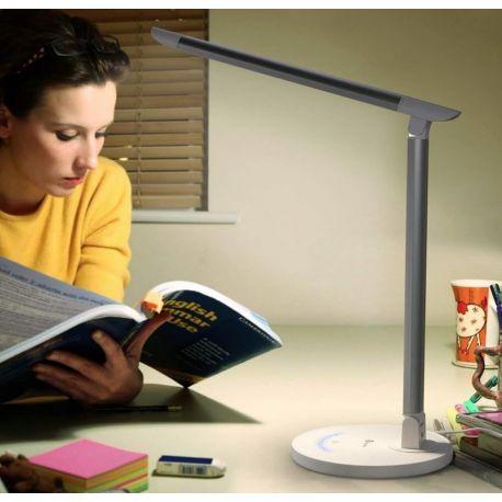 Lampe de Lecture LED 5 Ambiances, Tactile & Rechargeable USB