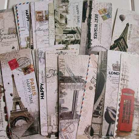 Marque-Page Cartes Postales Anciennes