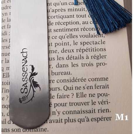 Marque-page Gravé SASSENACH