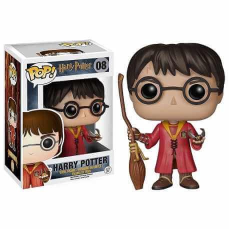 Figurine Vinyl Harry Potter  Quidditch
