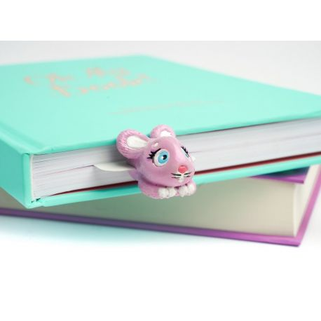 Marque-page Lapin rose