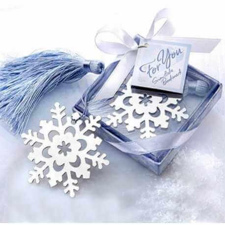 Marque-page Flocon de neige