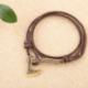 Bracelet Cuir Hache de Vikings