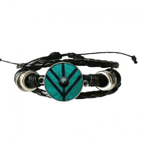 Bracelet Bouclier Viking