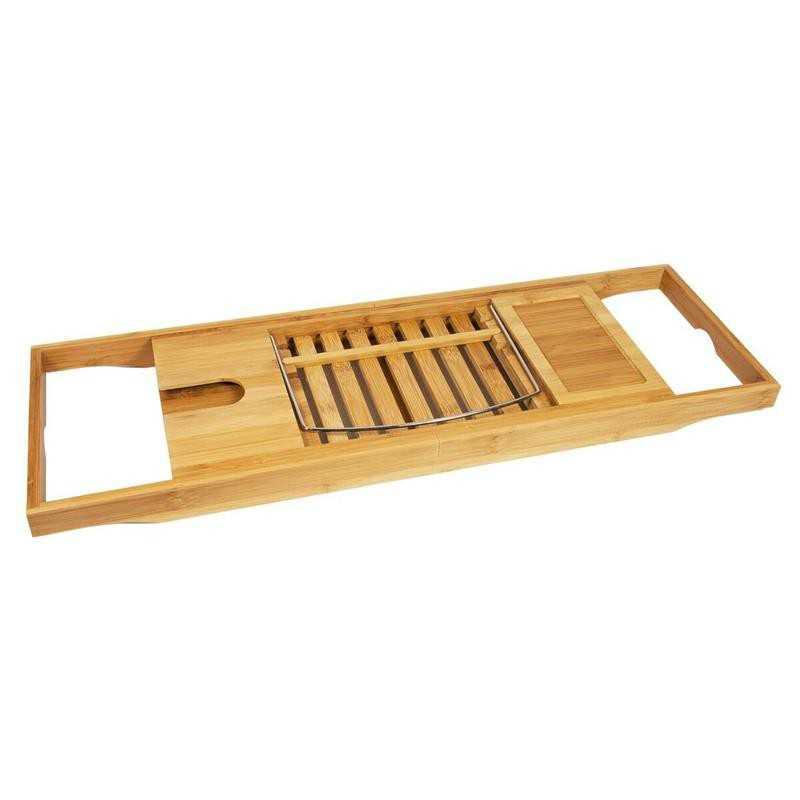 acheter plateau baignoire bois porte livre pour. Black Bedroom Furniture Sets. Home Design Ideas