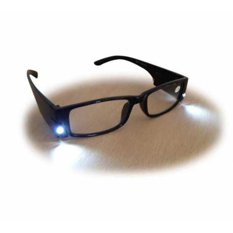 lunette loupe avec lampe led incorpor e acheter lunettes. Black Bedroom Furniture Sets. Home Design Ideas