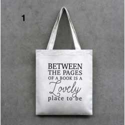 Sac Tote bag pour Livres Addict