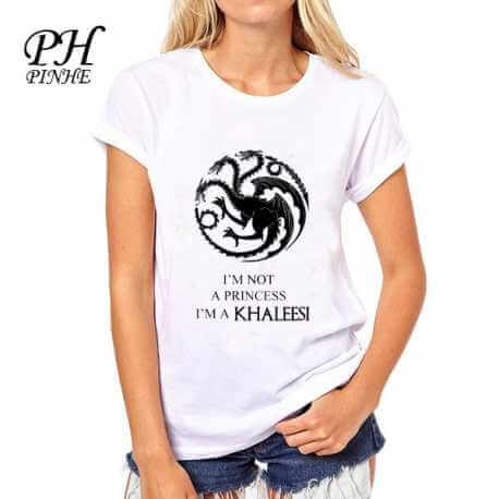 Tee shirt Game of Thrones Femme